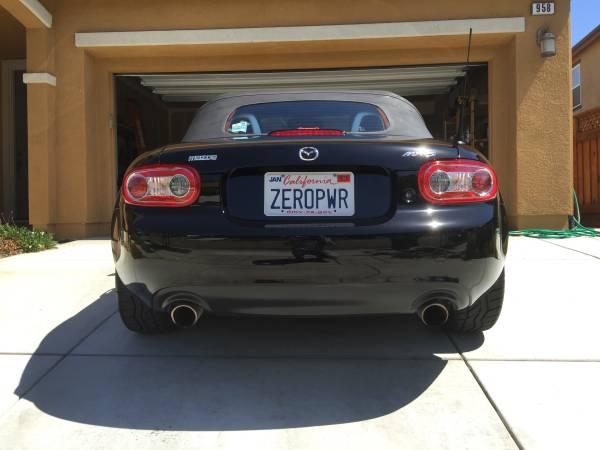 "Mazda Miata Admits It's Underpowered with ""ZEROPWR"" Number ..."