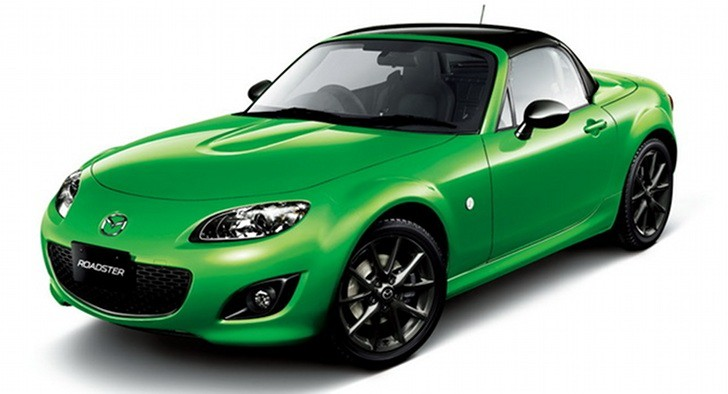 Mazda MX-5 Gets Black Tuned Edition for Japan