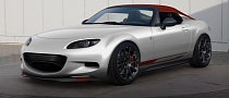 Mazda MX-5 Miata Spyder and Turbo2 Previewed ahead of 2011 SEMA Debut