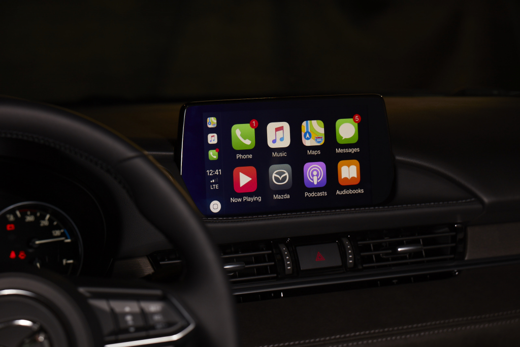 mazda offers apple carplay android auto upgrade for 199. Black Bedroom Furniture Sets. Home Design Ideas