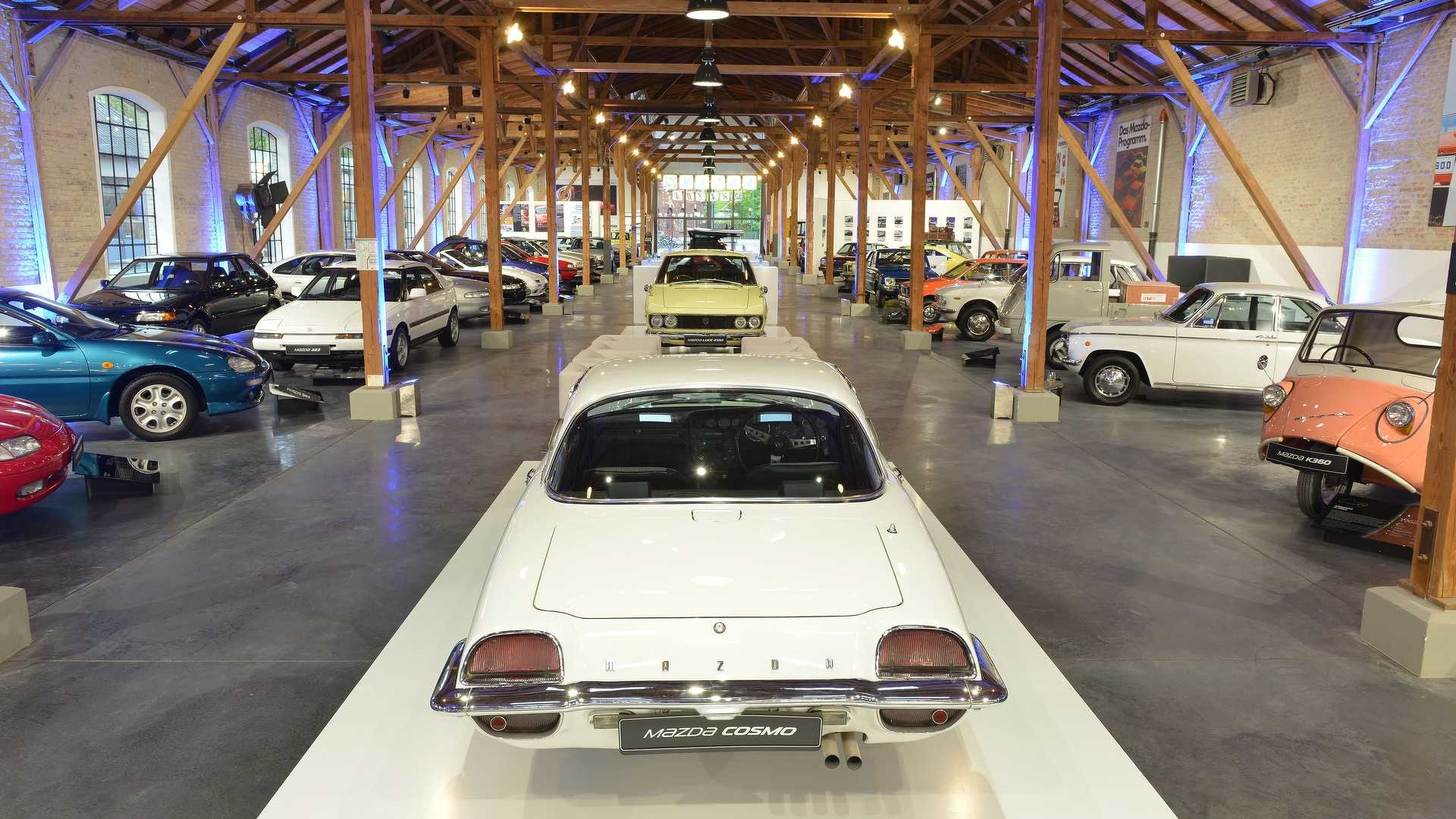 Mazda Opens Classic Car Museum In Germany Autoevolution - Classic car museum