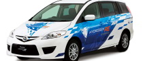 Mazda Premacy Hydrogen RE Hybrid Hits the Streets