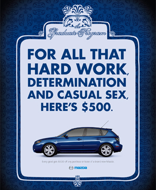 Mazda Rewards Canadian Graduates For Casual Sex Autoevolution - Mazda rewards