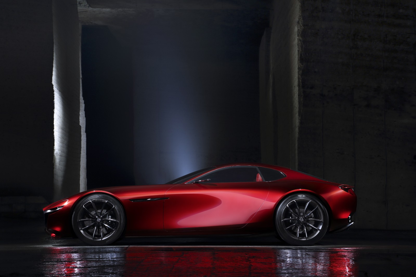 Wonderful ... Mazda RX Vision Concept ...