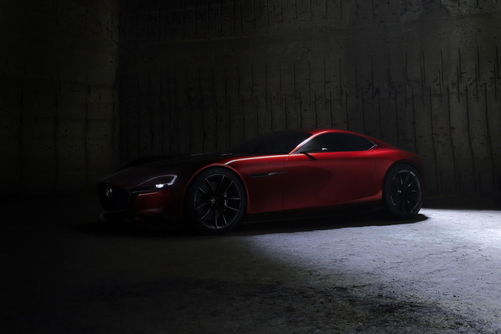 ... Mazda RX Vision Concept ...