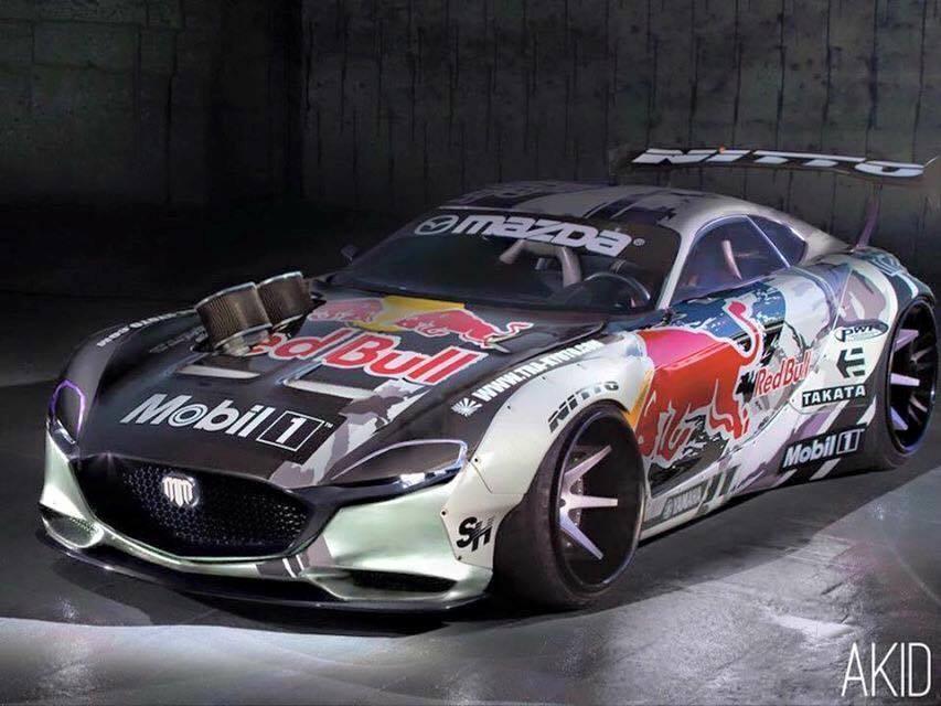 Rx Race Car Interior