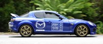 Mazda Testing in Preparation for Targa Tasmania