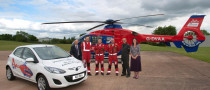 Mazda2 Donated to Devon Air Ambulance Trust Charity