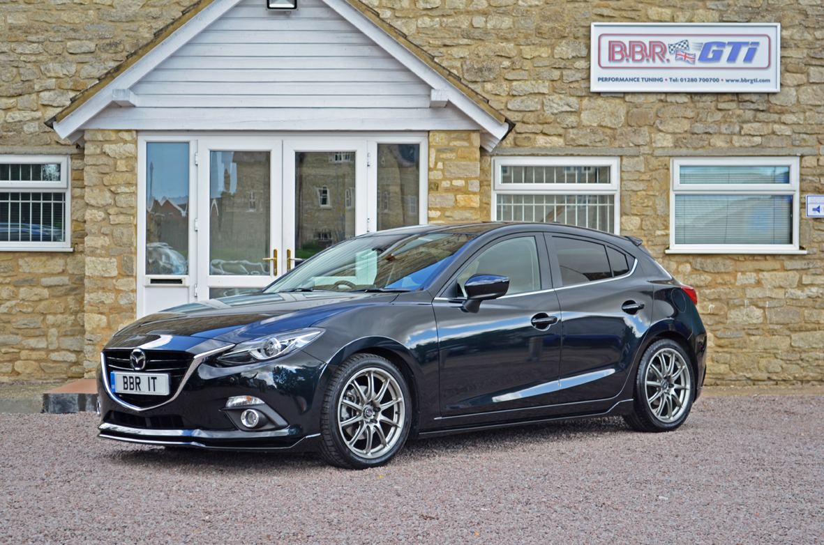 mazda3 2 0 skyactiv g tuned to 185 bhp by bbr autoevolution. Black Bedroom Furniture Sets. Home Design Ideas