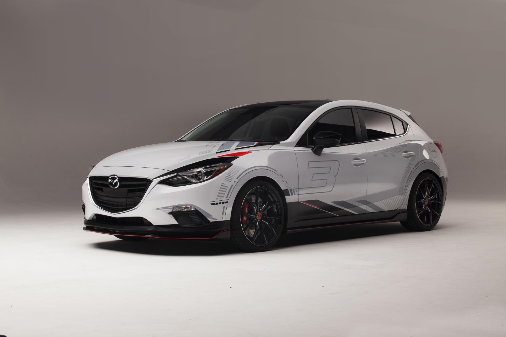 Build A Toyota >> Mazda3 and Mazda6 2013 SEMA Concepts Revealed - autoevolution