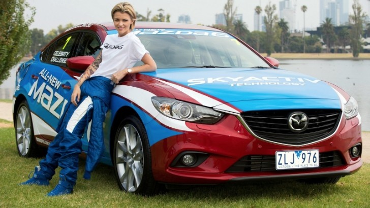 Mazda6 Celebrity Challenge Announced for 2013 F1 Australian GP