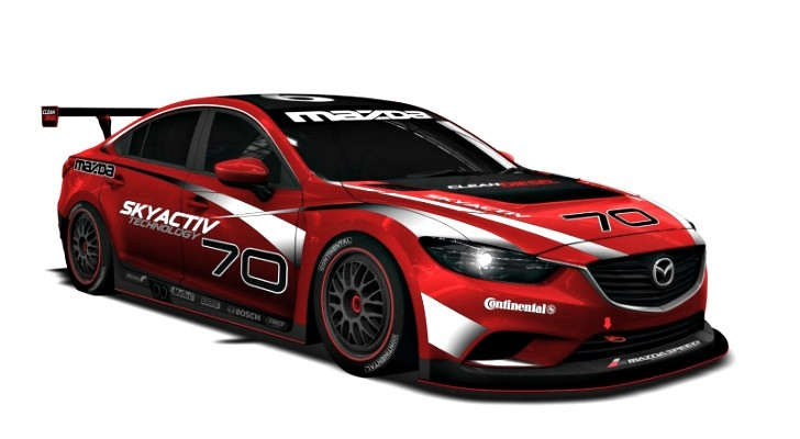 Mazda6 Diesel Racer Teased for 2013 Grand-Am Series