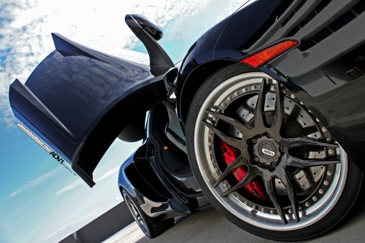 McLaren 12C Gets ADV X Wheels [Photo Gallery]