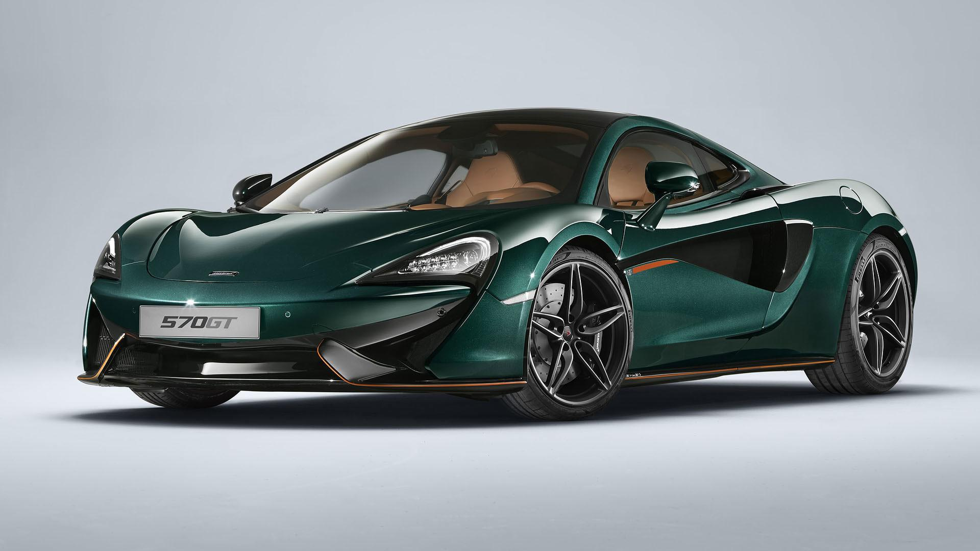 Mclaren 570gt Gets Limited Edition Mso Treatment With Xp Green Paint Autoevolution