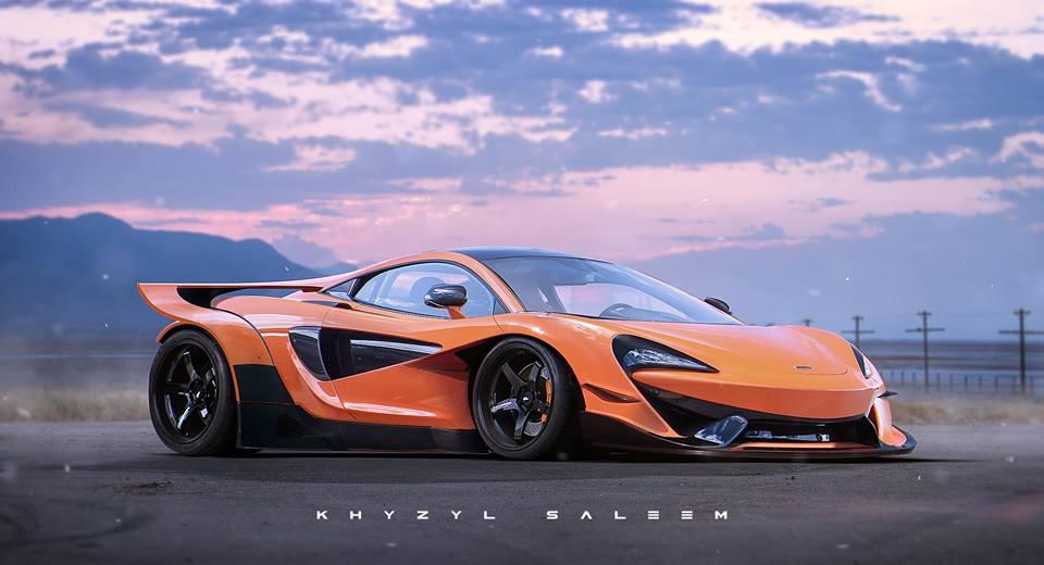 McLaren 570S Can-Am Experiment, a Rendering Bruce McLaren Would Love ...