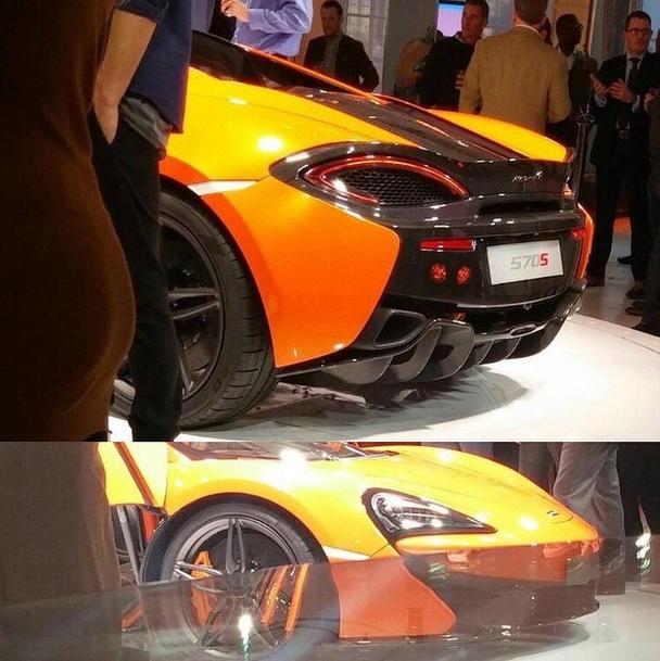 2017 Mclaren 570s Camshaft: UPDATE: McLaren 570S Leaked Prior To New York Auto Show
