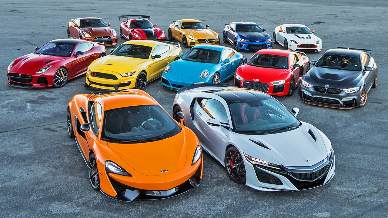mclaren 570s wins 2016 motor trend car of the year mustang gt350r gets close autoevolution. Black Bedroom Furniture Sets. Home Design Ideas