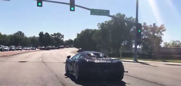 mclaren 570s with awe tuning exhaust sounds like bees going through