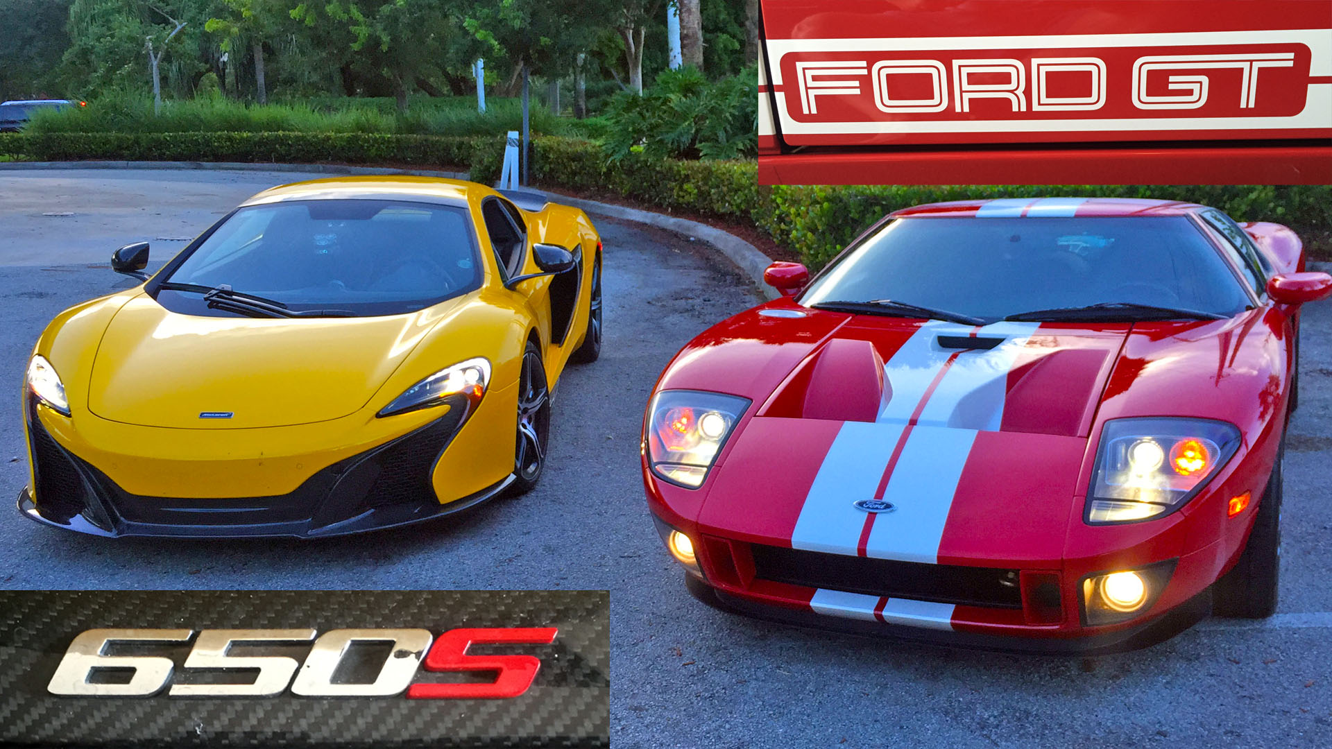 Mclaren S Races Tuned  Ford Gt With  Hp