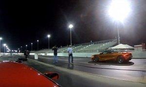 Mclaren S Drag Races  Hp Ford Gt Shots Fired