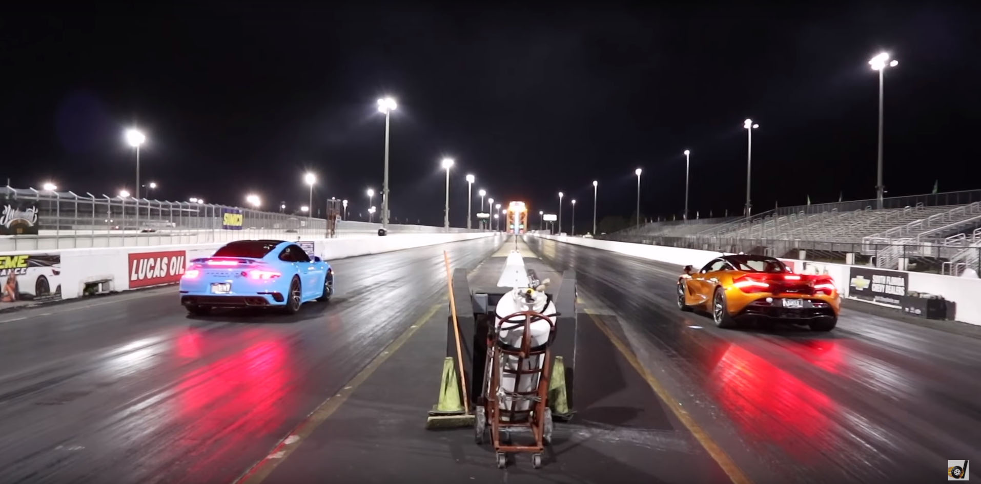 Mclaren 720s Vs Porsche 911 Turbo S Drag Race Is A