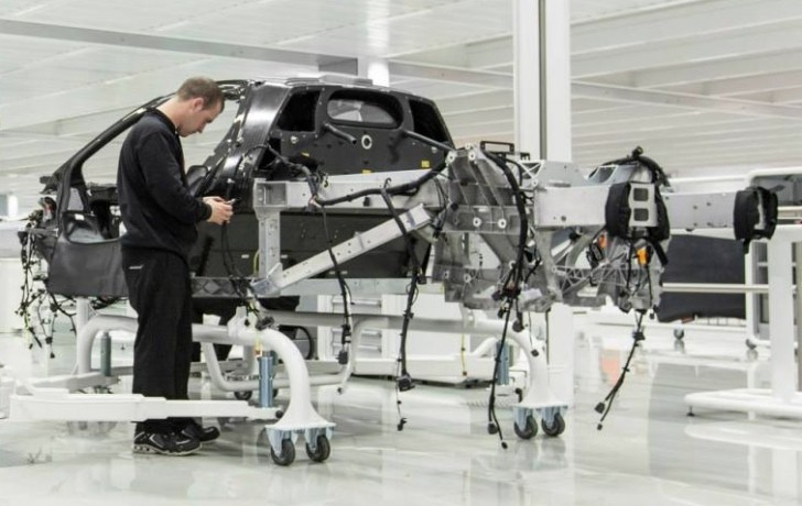 McLaren Confirms P1 Production Is Underway [Photo Gallery]
