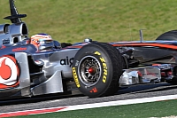 McLaren Mercedes MP4-25 driven by Jenson Button