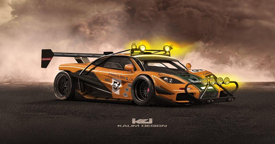 Baja-Style McLaren F1 Render May Be a Glimpse into McLaren ...