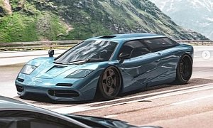 McLaren F1 Shooting Brake Looks Amazing, Still Lightning