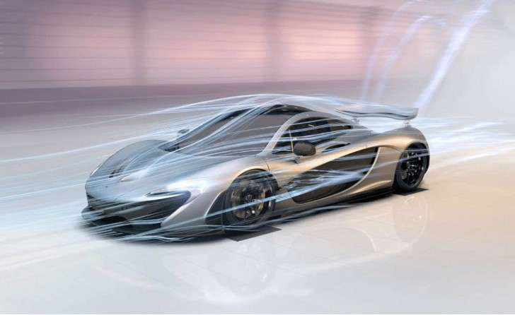 "McLaren Launches P1 ""Designed by Air"" Interactive Experience"
