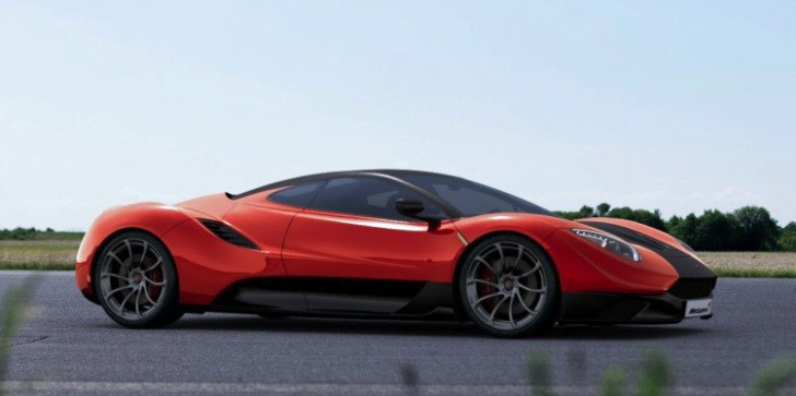 McLaren MC-1 Design Study [Video] [Photo Gallery]