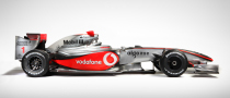 McLaren Mercedes Unveil New MP4-24