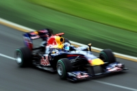Red Bull's Sebastian Vettel in Aussie qualifying