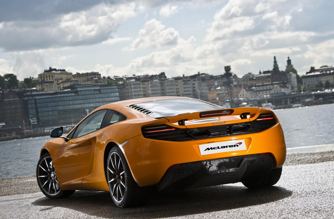 McLaren MP4-12C Enters Swedish Market - autoevolution