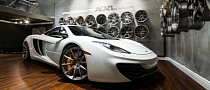 McLaren MP4-12C Gets ADV.1 Wheels Birthday Gift