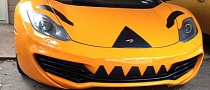McLaren MP4-12C Gets Halloween Costume