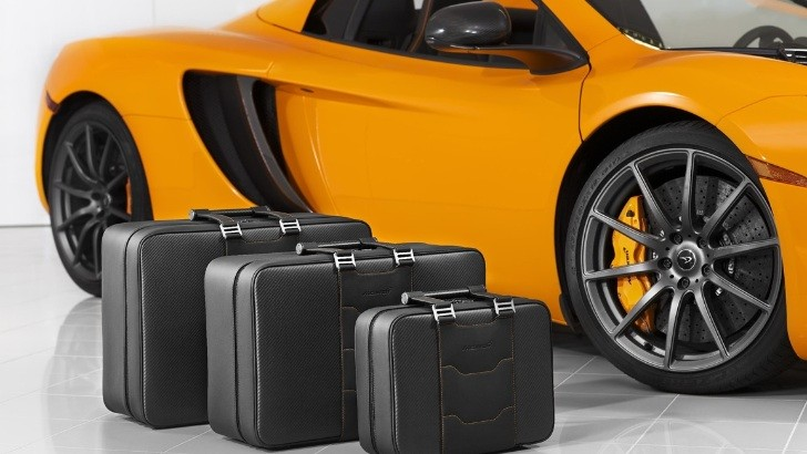 McLaren MP4-12C Gets Official Fitted Luggage