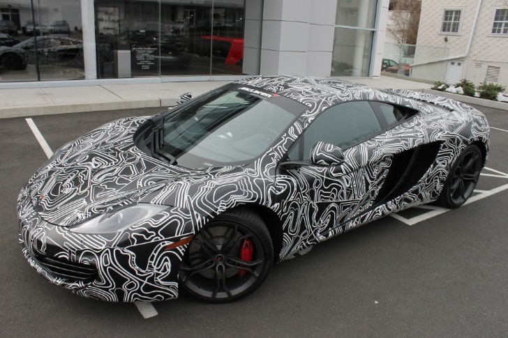 "McLaren MP4-12C ""Greenwich Edition"" - The Camouflaged Supercar [Photo Gallery]"