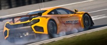 McLaren MP4-12C GT3 Unveiled, First Tests Completed [Video]
