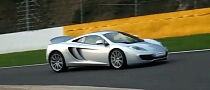 McLaren MP4-12C Hooning on the Track [Video]
