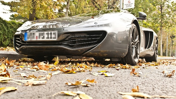 McLaren MP4-12C MTM Tuning Kit Coming