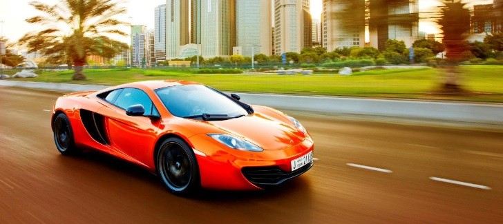 McLaren MP4-12C Named Middle East Car of the Year