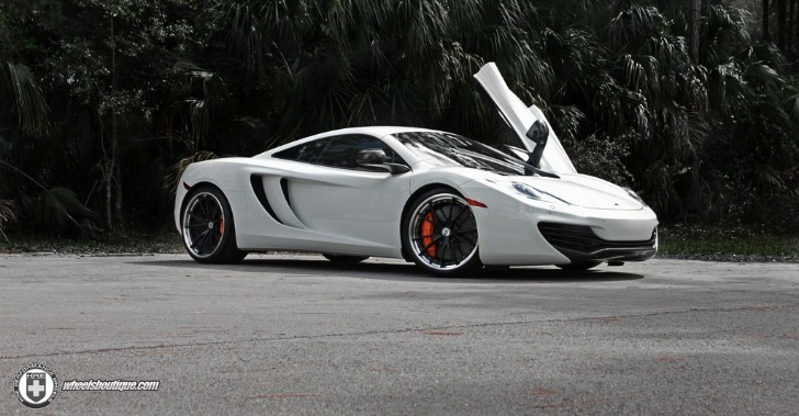 McLaren MP4-12C on HRE Wheels Is Stunning [Photo Gallery]