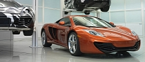 McLaren MP4-12C Production Halted Due to Safety Concerns
