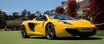 McLaren MP4-12C Spider European Debut Set for Windsor Concours of Elegance