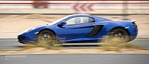 McLaren MP4-12C Spider Plays Road Runner
