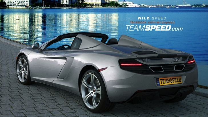 McLaren MP4-12C Spider Renderings Released