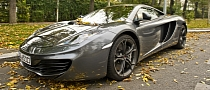 McLaren MP4-12C Spotted in Bucharest [HD Photo Gallery]
