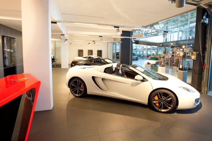 McLaren Opens Fifth German Showroom