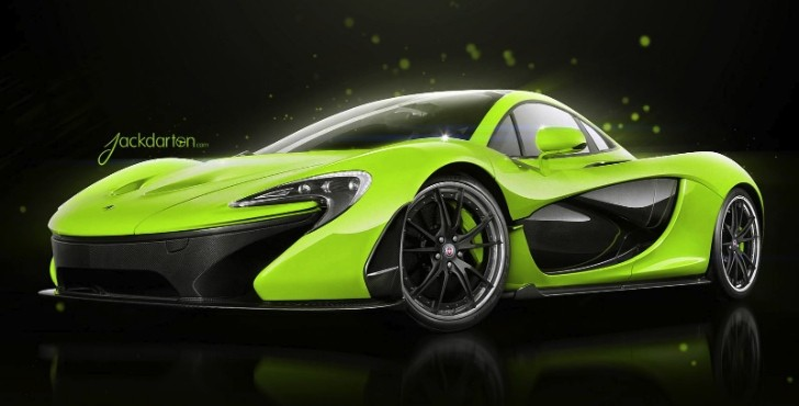 McLaren P1 Gets HRE Wheels via Virtual Tuning